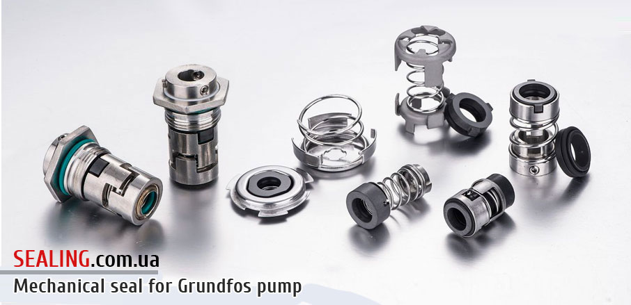 Mechanical seals for Grundfos pumps