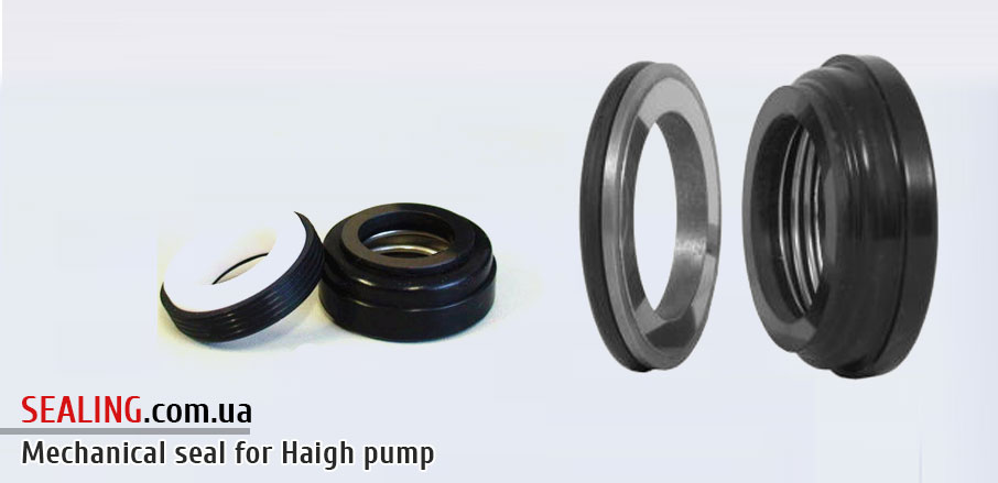 Mechanical seals for Haigh pumps